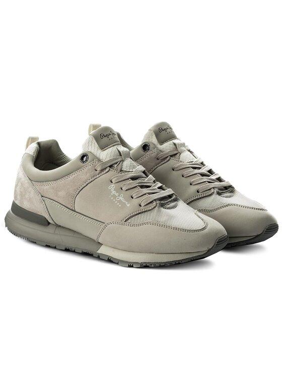 Pepe Jeans Pepe Jeans Sneakersy Boston B&W PMS30381 Beżowy