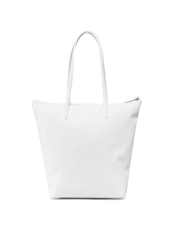 Lacoste Lacoste Torebka Vertical Shopping Bag NF1890PO Biały