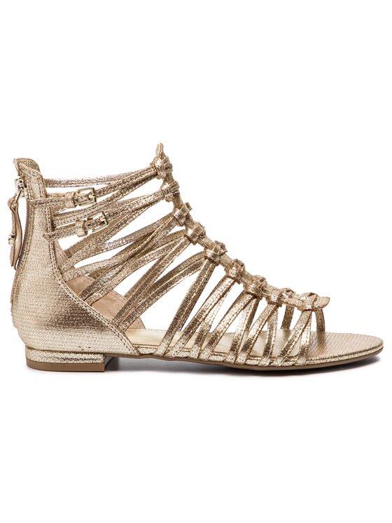 Guess Guess Sandále Renata3 FL6RN3 LEM03 Zlatá