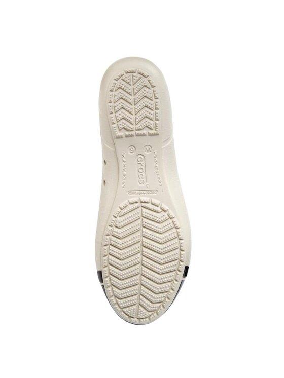 Crocs Crocs Baleríny Cap Toe Flat 12300 Béžová