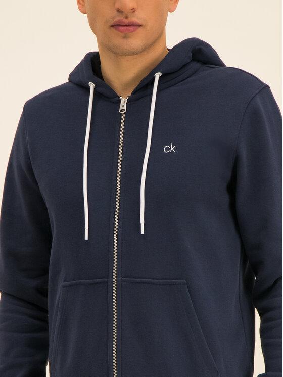 Calvin Klein Calvin Klein Pulóver Carbon Brush Through K10K104952 Sötétkék Regular Fit
