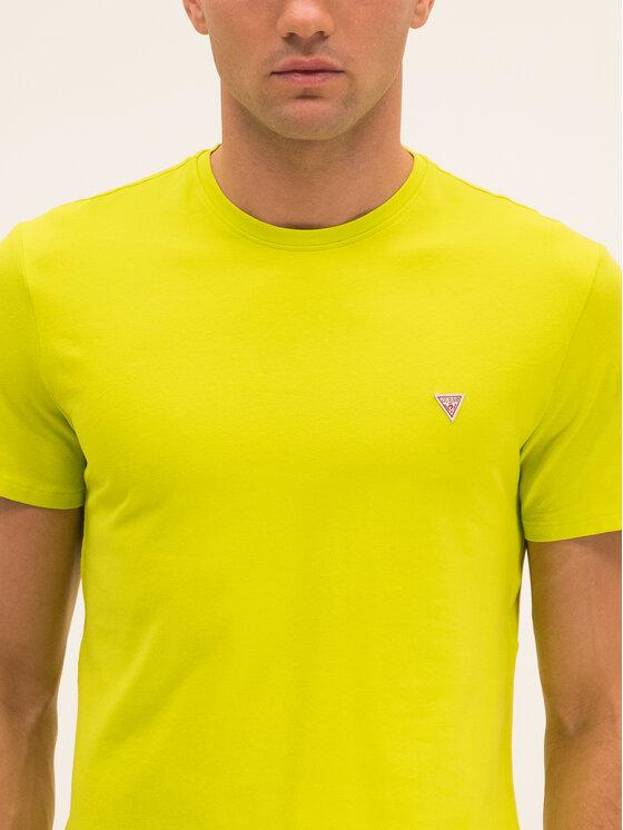 Guess Guess T-Shirt M01I24 J1300 Zielony Regular Fit