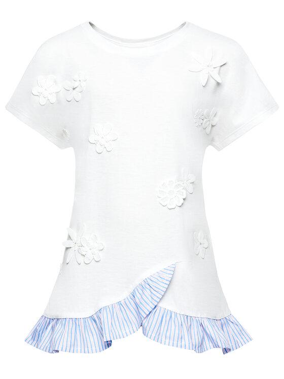 Primigi Primigi T-Shirt Free Spirt 43222531 Bílá Regular Fit