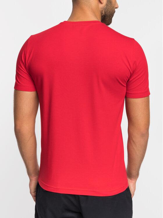 EA7 Emporio Armani EA7 Emporio Armani T-Shirt 3GPT04 PJ03Z 1450 Czerwony Slim Fit