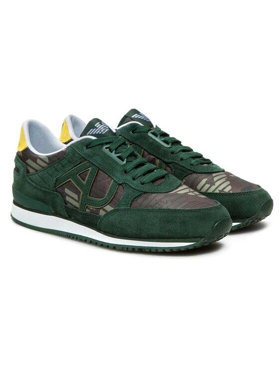 Armani Jeans Armani Jeans Sneakersy V6512 16 X6 Zelená