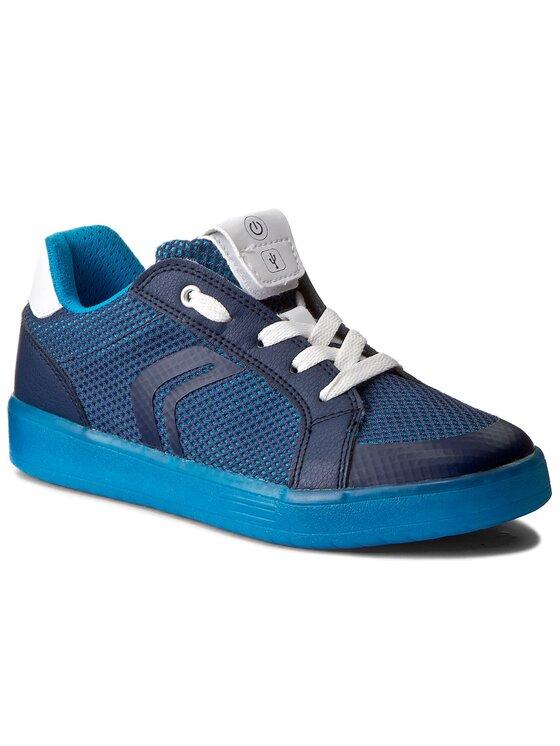 Geox Geox Sneakersy J Kommodor B.A J825PA 014BU C0693 D Granatowy