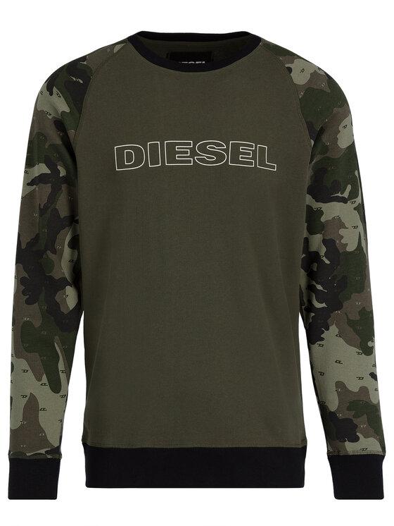 Diesel Diesel Felpa Umlt-Max 00CP81 0BAWZ Verde Regular Fit