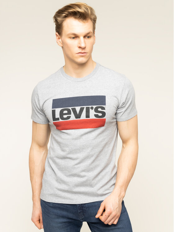 Levi's® Levi's® T-Shirt Sportswear Logo Graphic 39636-0002 Szary Regular Fit
