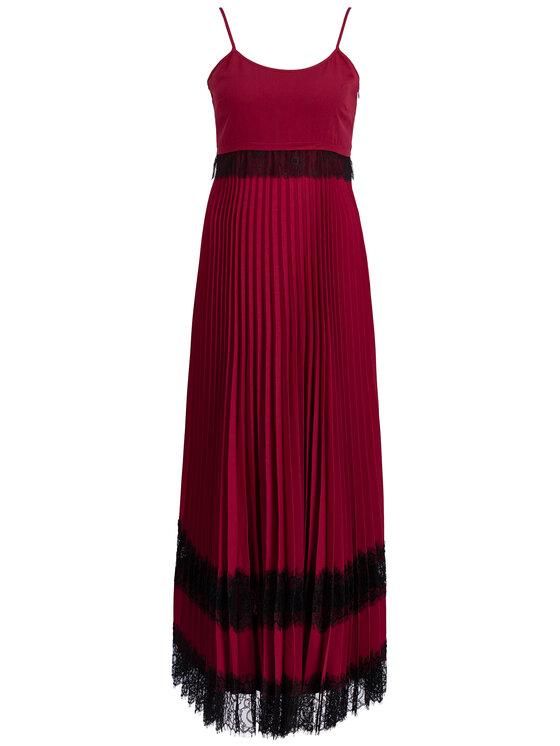 TwinSet TwinSet Vakarinė suknelė 192TP2282 Violetinė Regular Fit