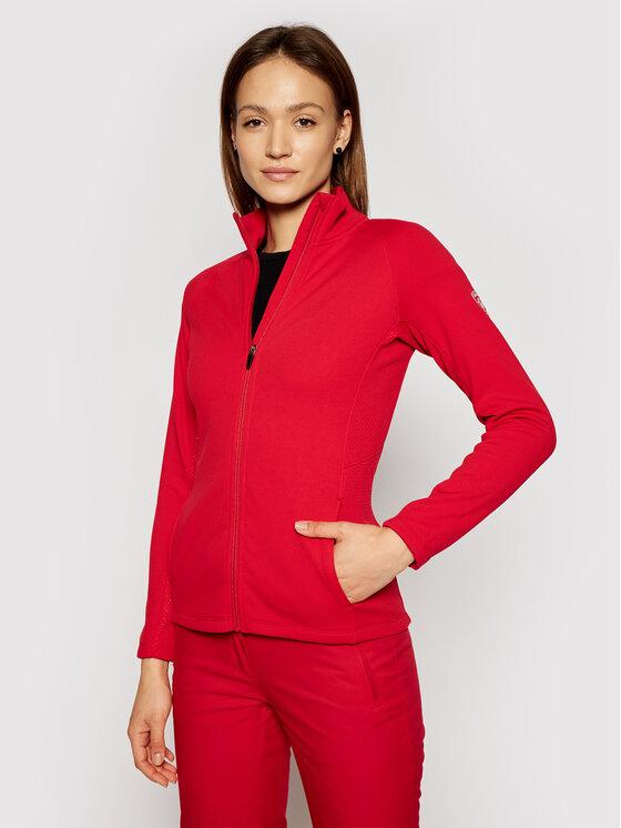 Rossignol Džemperis Classique Clim RLIWS02 Raudona Slim Fit