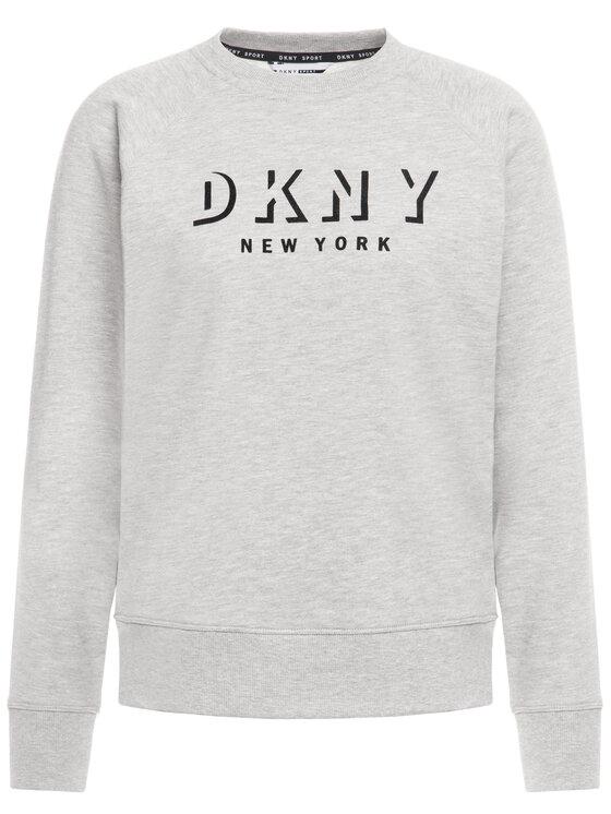 DKNY Sport DKNY Sport Sweatshirt DP9T7096 Grau Regular Fit