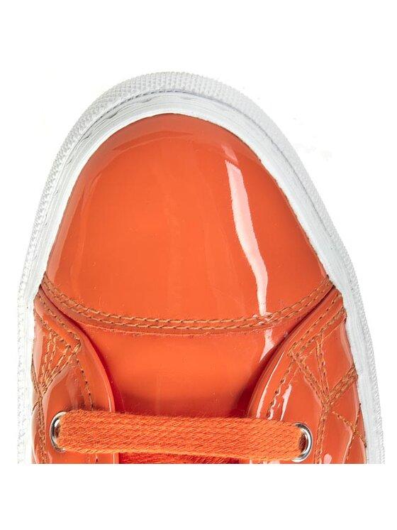 Geox Geox Sneakersy D New Club D4258A 000HH C7013 Pomarańczowy