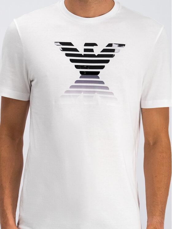 Emporio Armani Emporio Armani T-Shirt 6G1TC3 1J00Z 0140 Biały Regular Fit