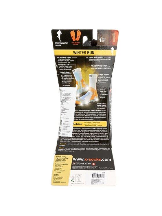 X-Socks X-Socks Κάλτσες Ψηλές Unisex Winter Run X020243 Μαύρο