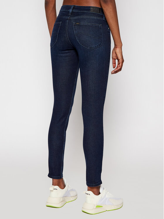Lee Lee Skinny Fit Jeans Scarlett L526RKIN Dunkelblau Skinny Fit