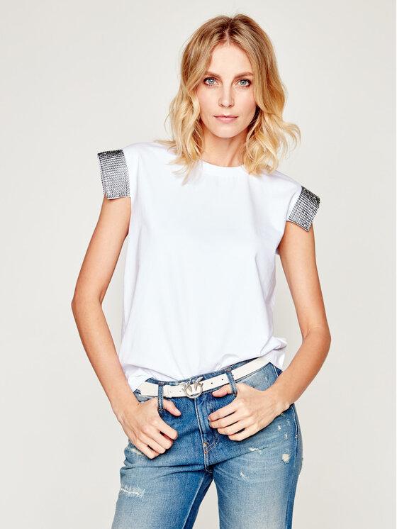 Silvian Heach Silvian Heach T-Shirt Maputo PGP20390TS Weiß Regular Fit