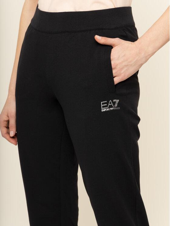 EA7 Emporio Armani EA7 Emporio Armani Spodnie dresowe 8NTP65 TJ31Z 1200 Czarny Regular Fit