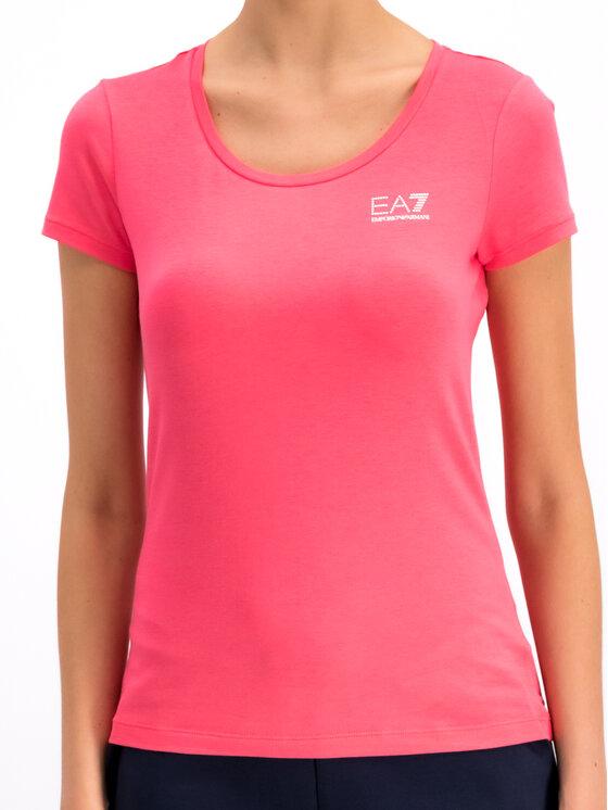 EA7 Emporio Armani EA7 Emporio Armani T-Shirt 3GTT01 TJ28Z 1456 Rosa Regular Fit