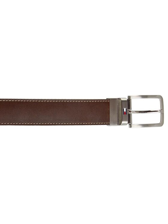 TOMMY HILFIGER TOMMY HILFIGER Cintura da uomo Th Stripe Belt 3.5 Rev AM0AM00873 85