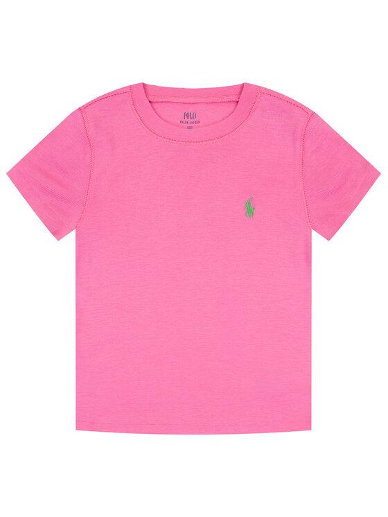 Polo Ralph Lauren Polo Ralph Lauren Marškinėliai 312698703 Rožinė Regular Fit