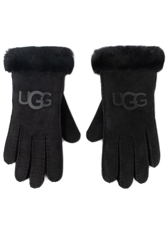 Ugg Ugg Gants femme W Sheepskin Logo Glove 18691 Noir