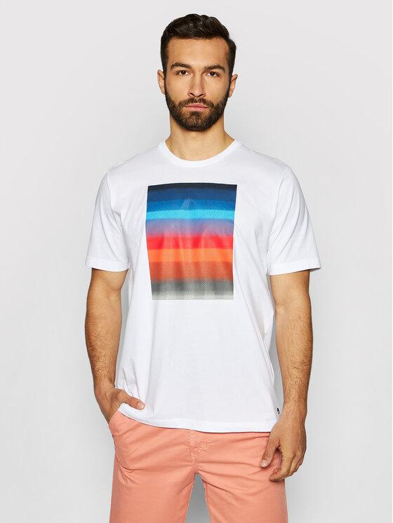 Pierre Cardin Marškinėliai 52620/000/11272 Balta Regular Fit