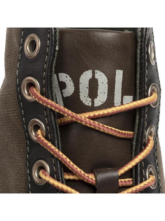Polo Ralph Lauren Polo Ralph Lauren Sneakersy Solomon II 816757774001 Zielony