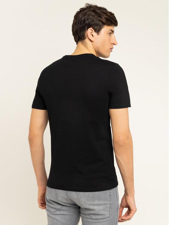 Guess Guess T-Shirt M01I71 I3Z00 Czarny Slim Fit