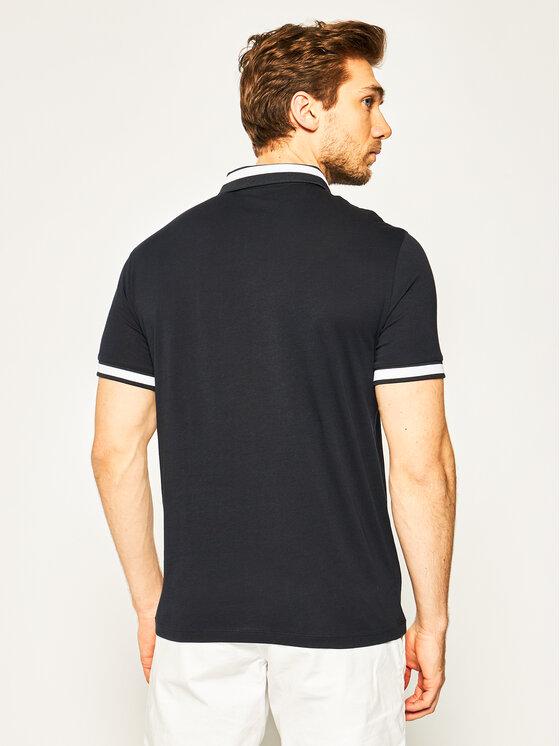 Armani Exchange Armani Exchange Polo marškinėliai 3HZFLB ZJH4Z 1583 Tamsiai mėlyna Regular Fit