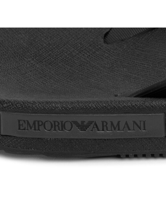 Emporio Armani Emporio Armani Japonki X4QS03 XM290 K001 Czarny