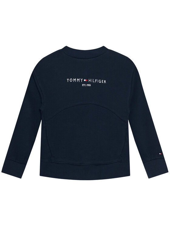 Tommy Hilfiger Tommy Hilfiger Bluza Essential KG0KG05764 M Granatowy Regular Fit