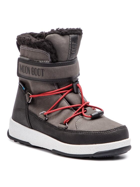 Moon Boot Sniego batai Jr Boy Boot Wp 34051600002 Pilka