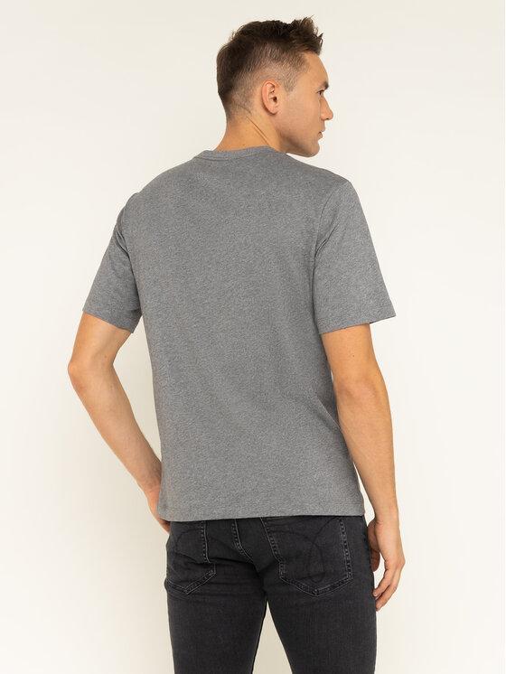Calvin Klein Jeans Calvin Klein Jeans T-Shirt Monogram Embro J30J313438 Γκρι Regular Fit