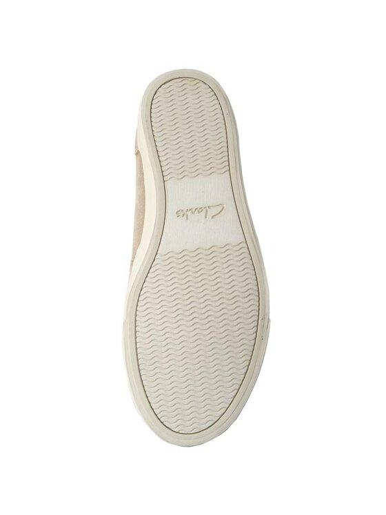 Clarks Clarks Κλειστά παπούτσια Torbay Slipon 261084617 Μπεζ