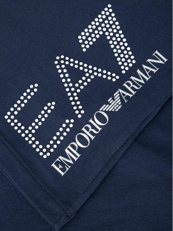 EA7 Emporio Armani EA7 Emporio Armani T-Shirt 3GTT15 TJ12Z 1554 Σκούρο μπλε Slim Fit