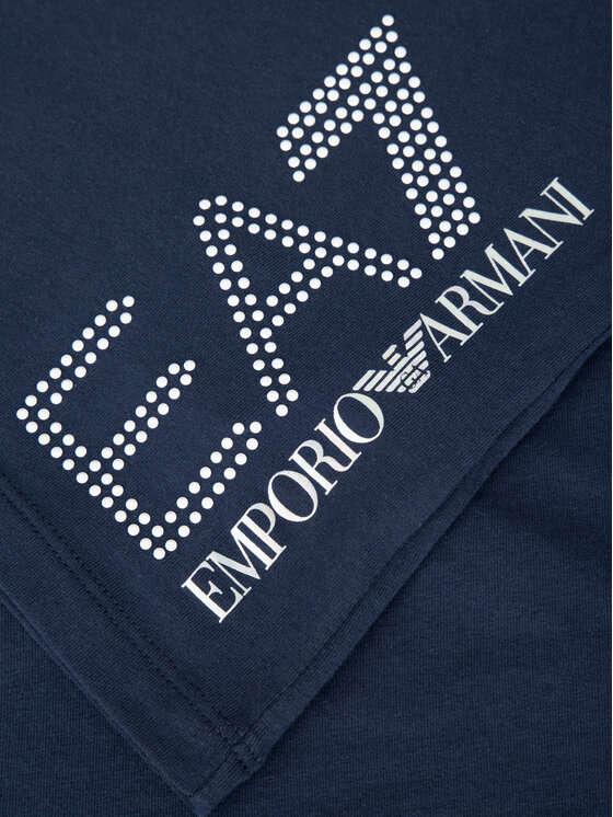 EA7 Emporio Armani EA7 Emporio Armani Тишърт 3GTT15 TJ12Z 1554 Тъмносин Slim Fit