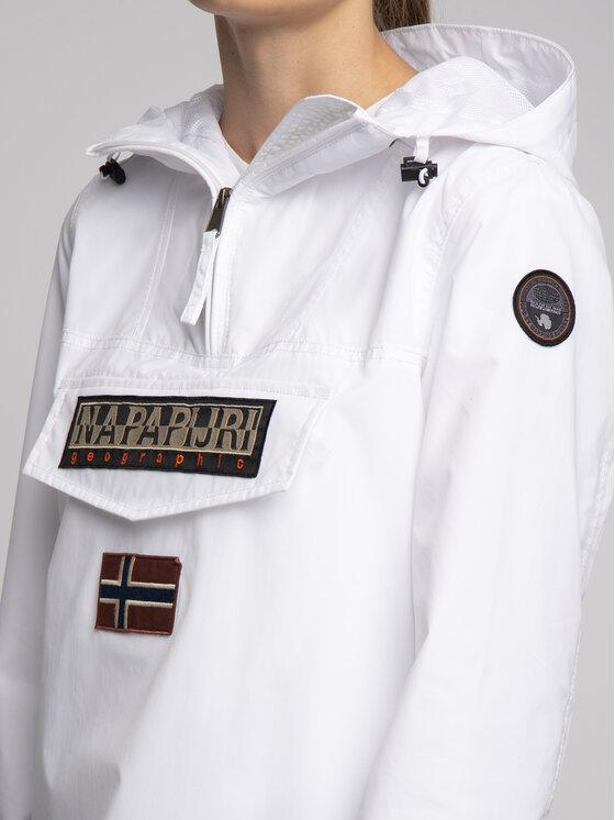 Napapijri Napapijri Átmeneti kabát Rainforest Summer N0YHDI Fehér Regular Fit