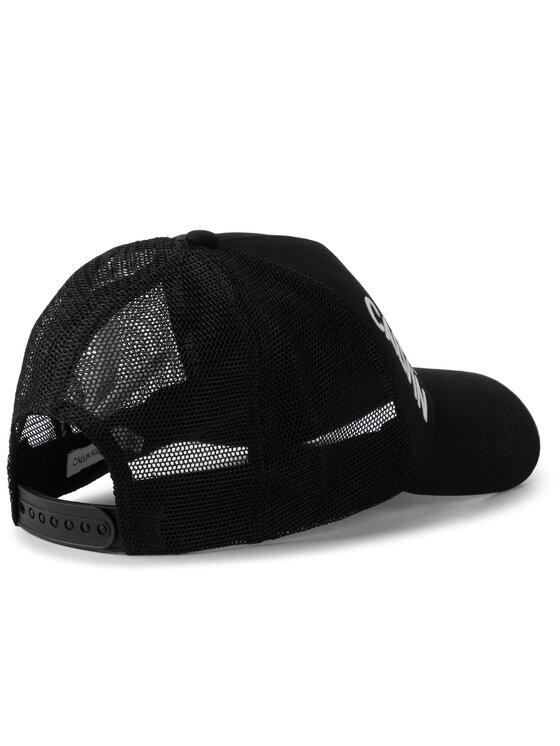 Calvin Klein Jeans Calvin Klein Jeans Καπέλο Jockey J Trucker Mesh Cap K50K504321 Μαύρο