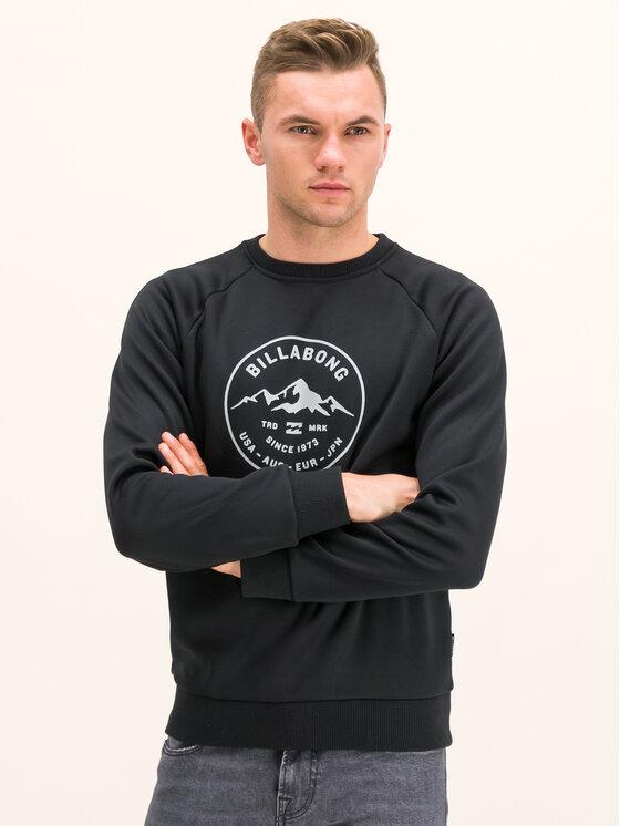 Billabong Džemperis Downhill Q6SM01 BIF9 Juoda Regular Fit