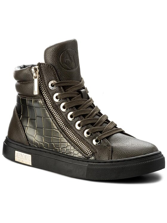 Armani Jeans Armani Jeans Sneakers 925000 7A662 00181 Verde