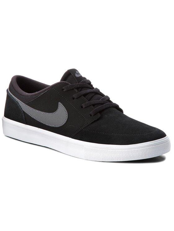 Nike Nike Batai Sb Portmore II Solar 880266 001 Juoda