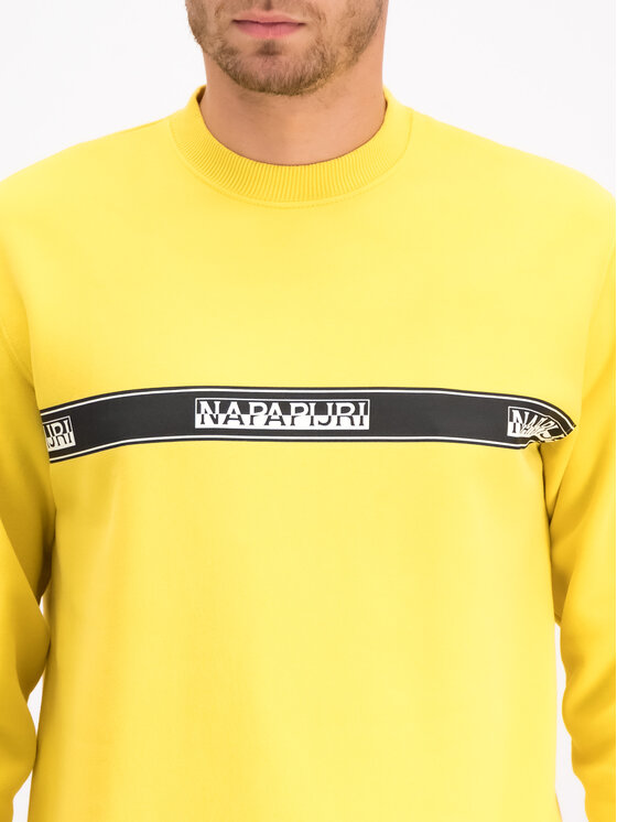 Napapijri Napapijri Μπλούζα Buena N0YHUB Κίτρινο Loose Fit