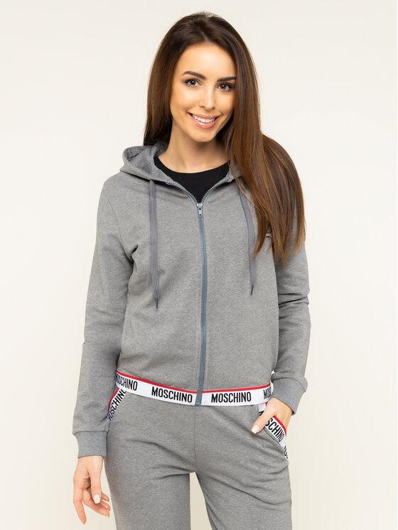 MOSCHINO Underwear & Swim Džemperis A1702 9001 Pilka Regular Fit