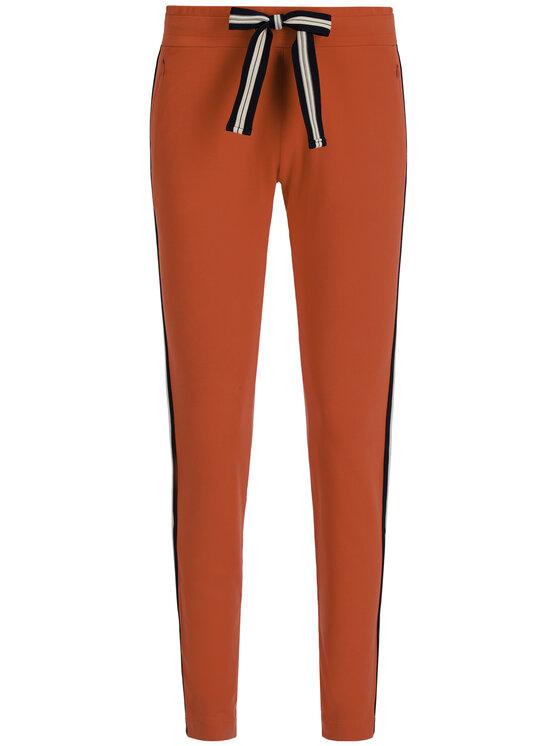 Laurèl Laurèl Pantaloni da tuta 82006 Rosso Regular Fit