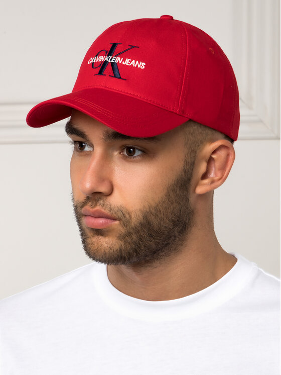 Calvin Klein Jeans Calvin Klein Jeans Καπέλο Jockey J Monogram Cap M K50K504940 Κόκκινο