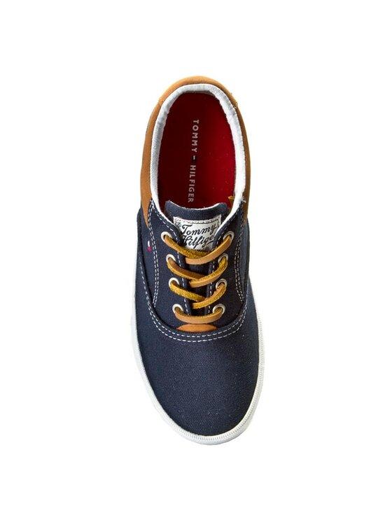 TOMMY HILFIGER TOMMY HILFIGER Πάνινα παπούτσια Winston Jr 1D FB56818873 D Σκούρο μπλε