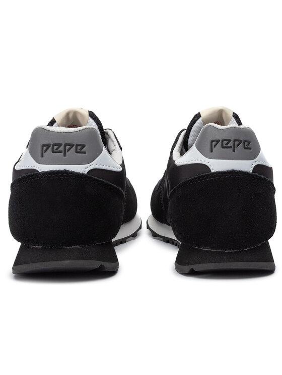 Pepe Jeans Pepe Jeans Sneakersy Klein Archive PMS30585 Czarny
