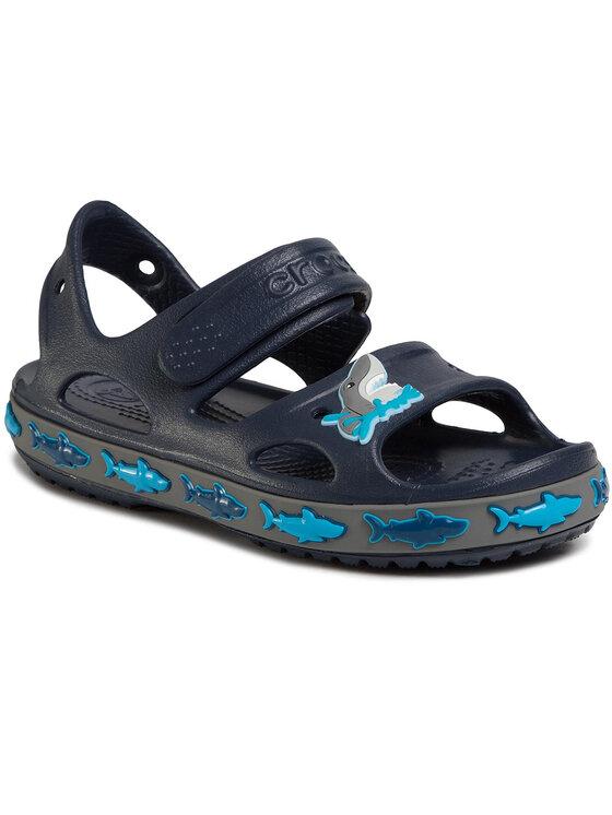 Crocs Basutės Fl Shark Band Sandal B 206365 Tamsiai mėlyna