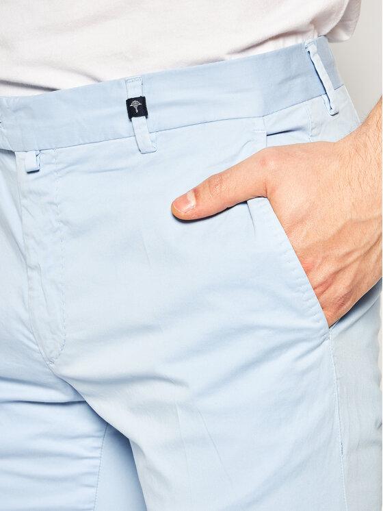 Joop! Joop! Kalhoty z materiálu 17 Jt-14Hanc-D 30015501 Modrá Slim Fit