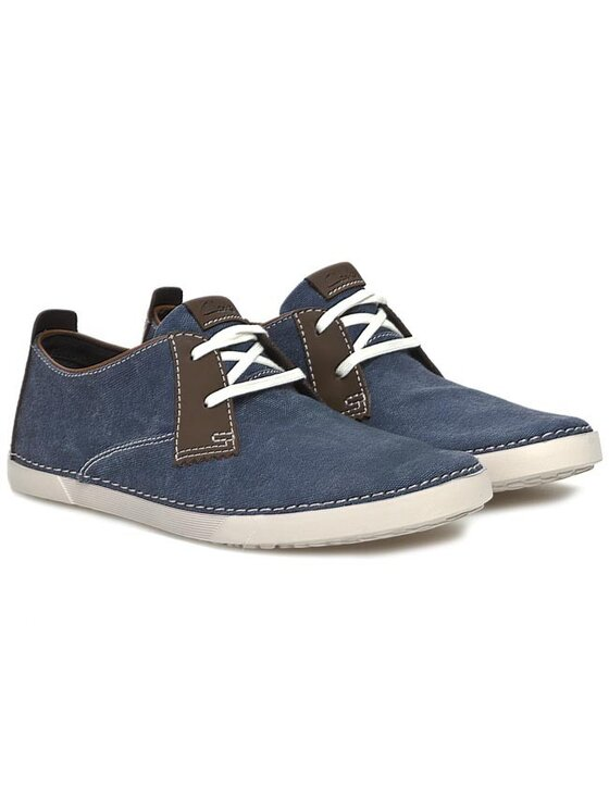 Clarks Clarks Pantofi Neelix Vibe 203587027 Albastru